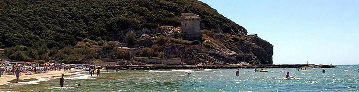 Italian rental holiday private beach house