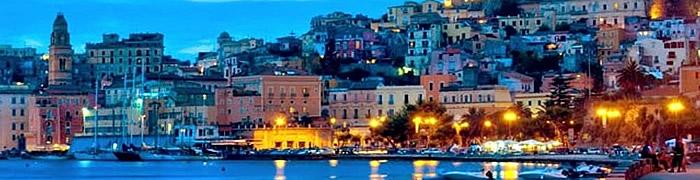 Gaeta summer Italian tours private beach house holiday accommodation