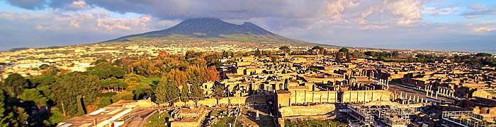 Italian family beach holiday Pompeii tours day trip Mount Vesuvius