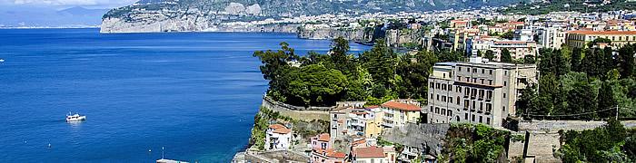 Sorrento day trip Italian family summer beach Sabaudia accommodation